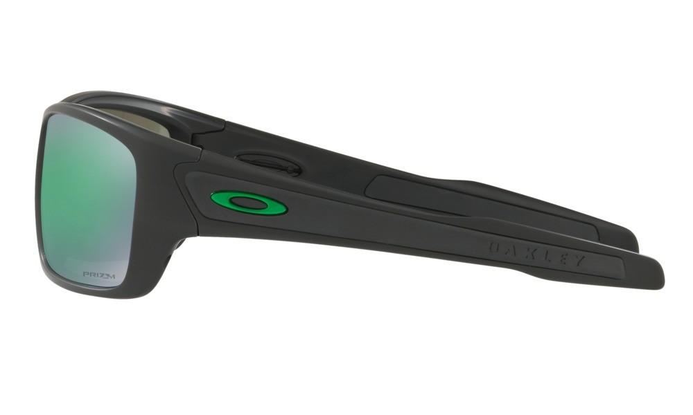 0334ead64 ... Oakley Turbine oo9263-45 č.3; Matte Black / Prizm Jade Polarized