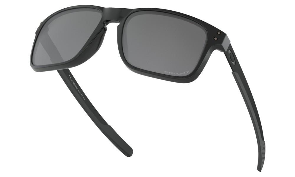 54111e48bb ... Oakley Holbrook Mix oo9384-06 č.4  Polished Black   Prizm Black  Polarized ...
