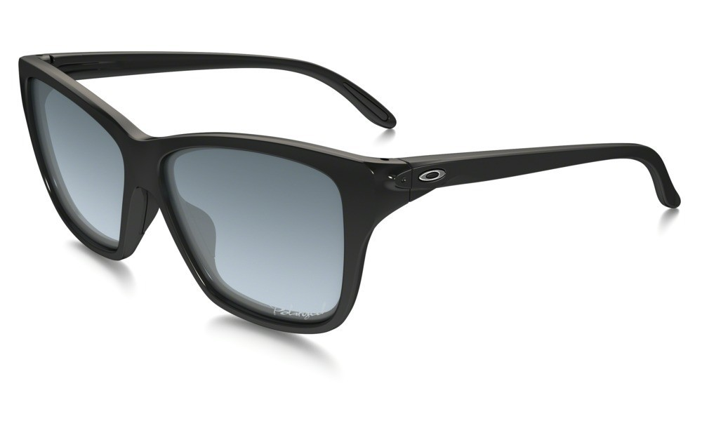 Oakley Hold On Polished Black Grey Gradient Polarized