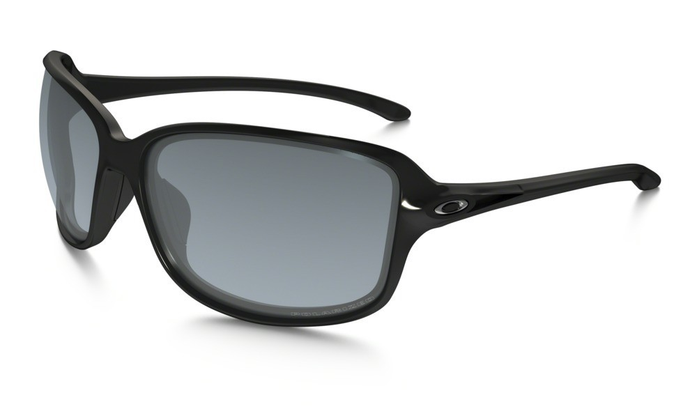 Oakley Cohort Polished Black Grey Gradient Polarized