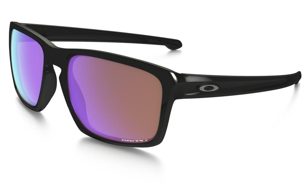Oakley Sliver Polished Black Prizm Golf